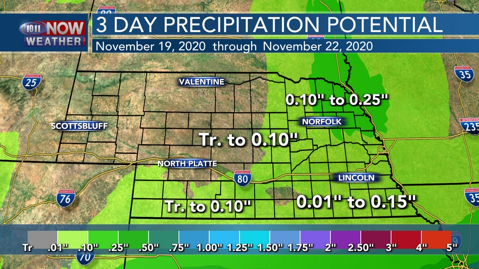 Lighter rainfall amounts are expected through this weekend as the front that is supposed to...