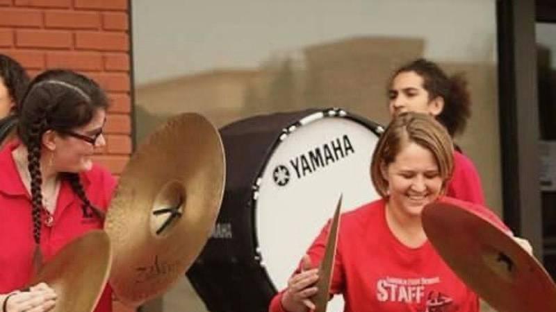 Jill Oetken, Lincoln High Band Director