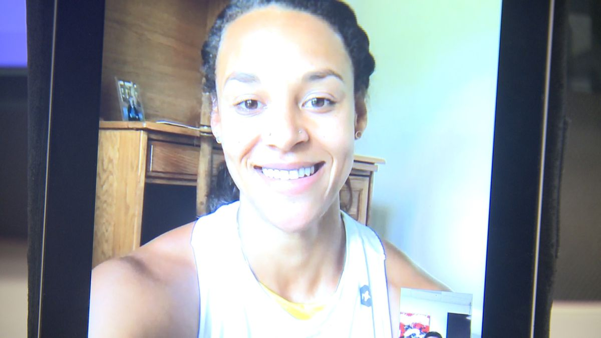 """Chantae McMillan chats with 10/11 Sports about her debut of """"The Titan Games."""""""