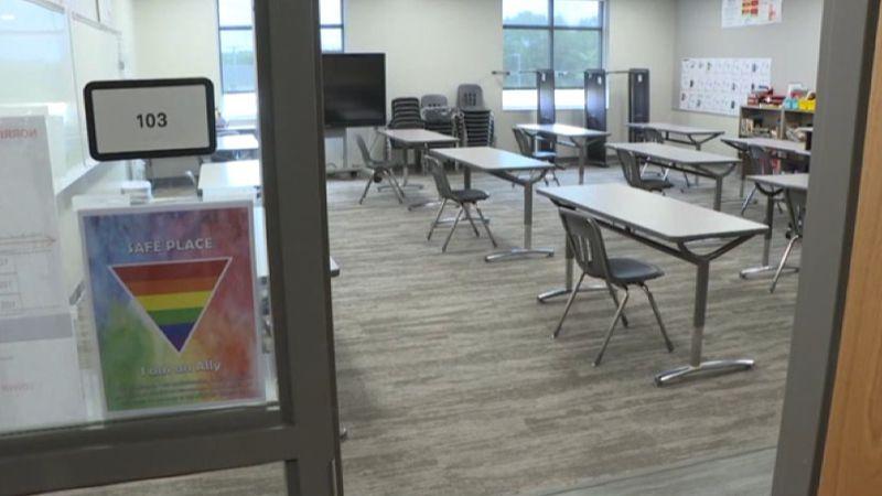 Inside of an OPS classroom, July 29, 2020