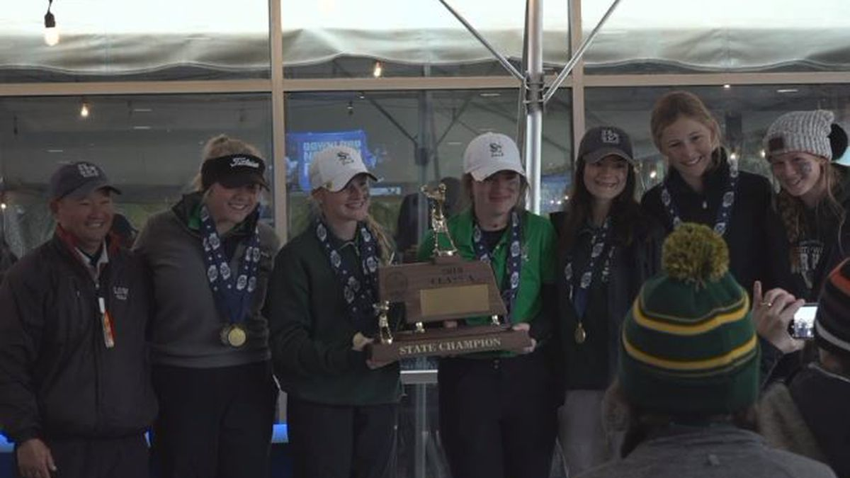 High School Girls State golf wrapped up on Tuesday across the state.