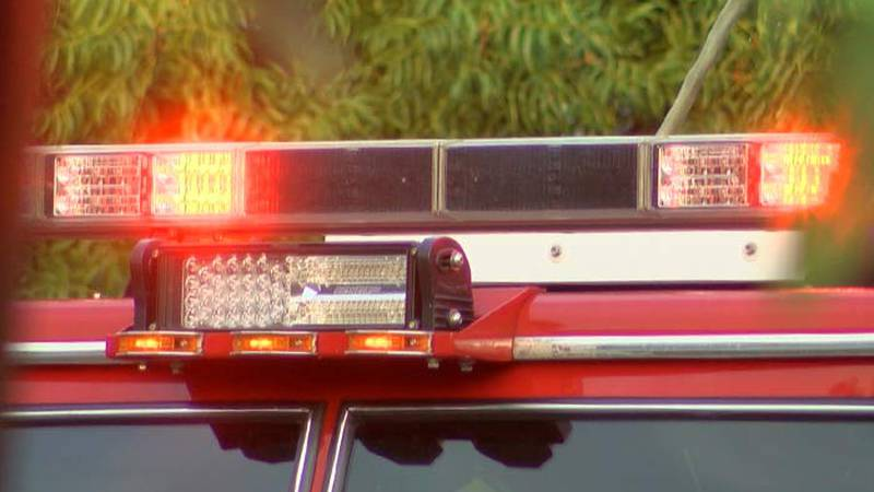 Multiple agencies responded to Sunday's fire