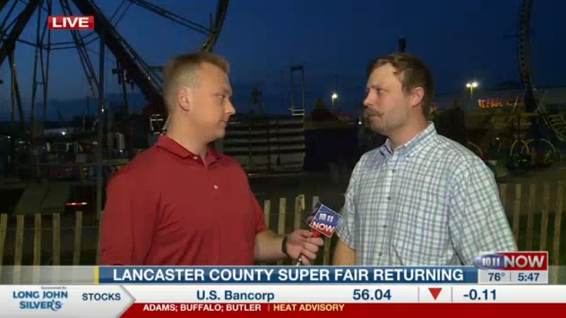 The Lancaster County Super Fair returns on Thursday after having cancelled the public...