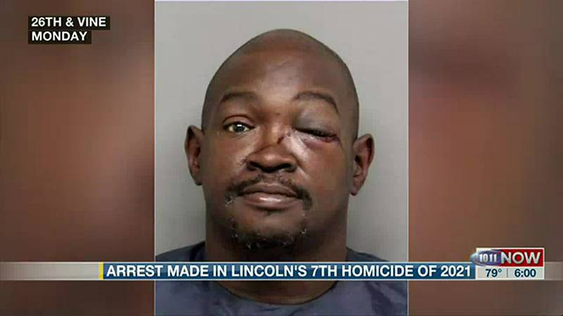 Brian Adams, a 50-year-old Lincoln man, was arrested for the city's 7th homicide.