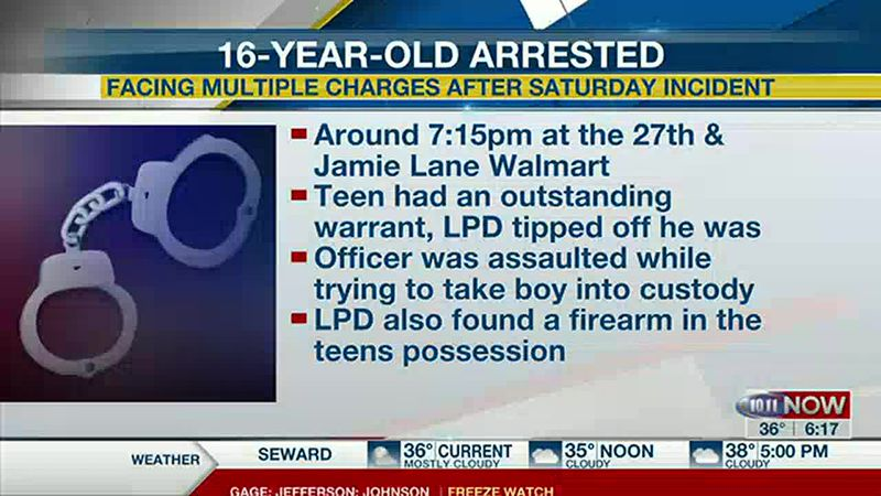 Warrant arrest of 16-year-old boy in Lincoln