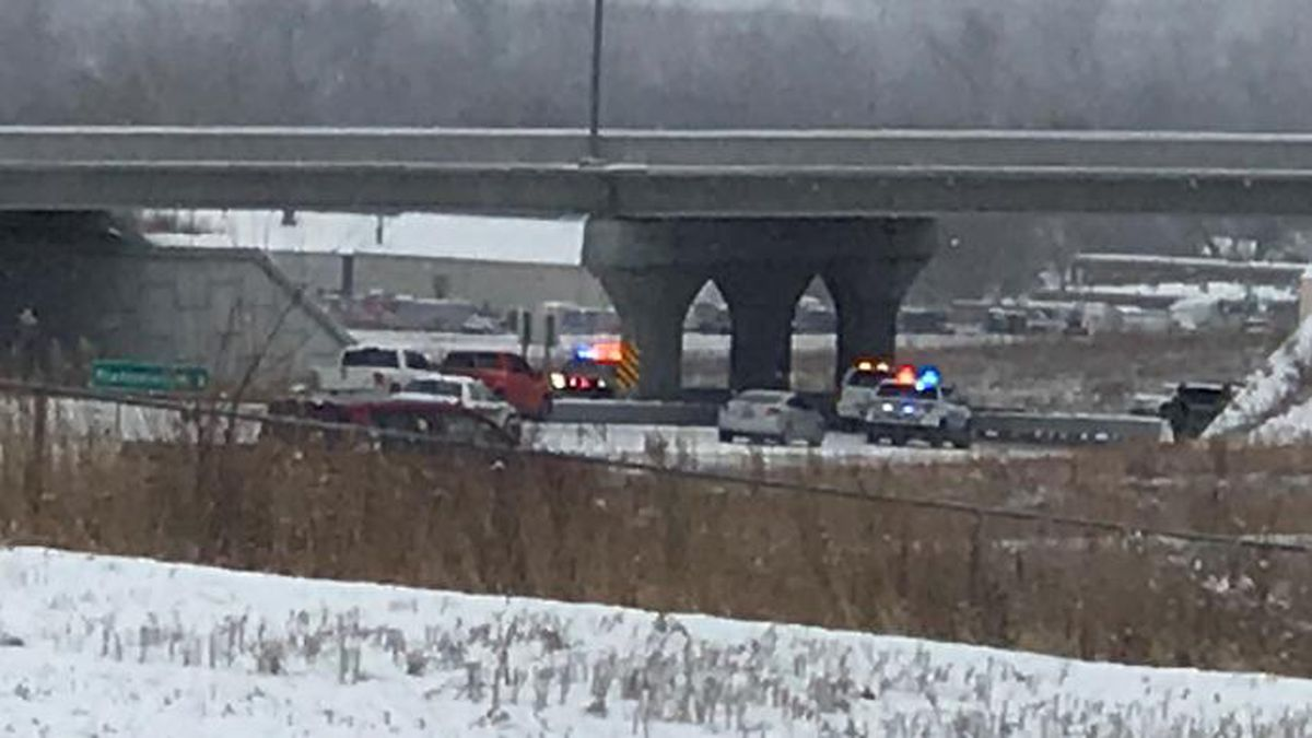 Two people were killed in a traffic accident at Highway 75 and Highway 34 on Sunday. (Source:...