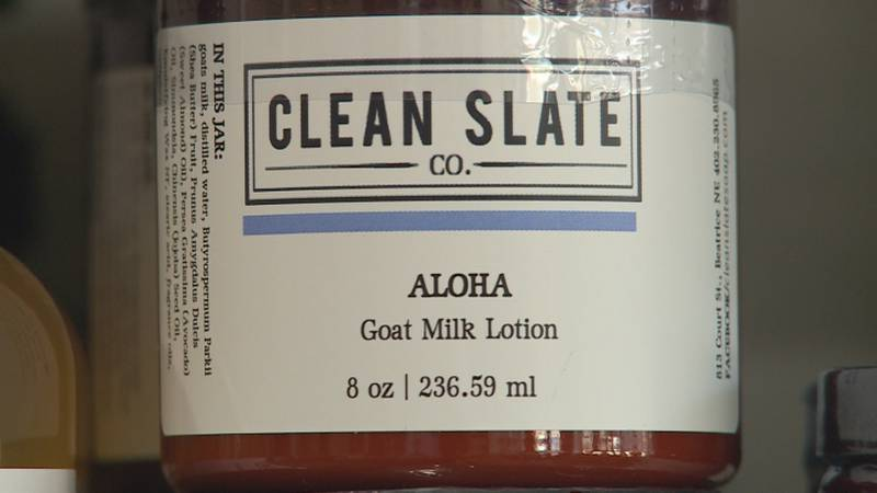 """During a trip to Beatrice, we learned about a store called """"Clean Slate Soap"""", that encourages..."""