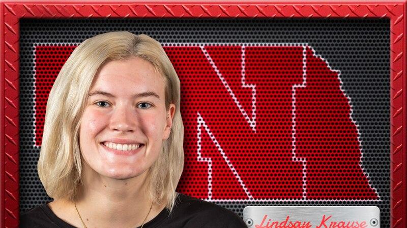 Nebraska volleyball freshman Lindsay Krause was named Big Ten Freshman of the Week, the...