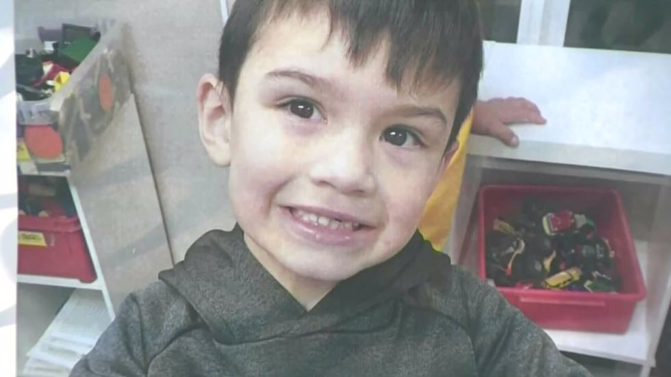 Aiden Leos, 6, was fatally shot on May 21 while seated in the back seat of a car driven by his...