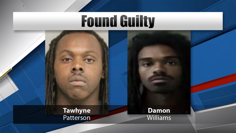 Damon Williams and Tawhyne Patterson were found guilty of murdering 36-year-old Jessica Brandon...