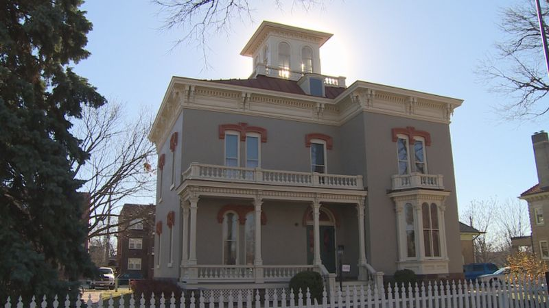 The Thomas P. Kennard house is considered to be the oldest structure in Lincoln's original...