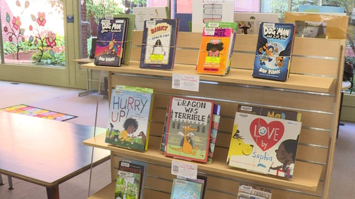 The Lincoln City Libraries were impacted by the pandemic too, so they've come up with a...