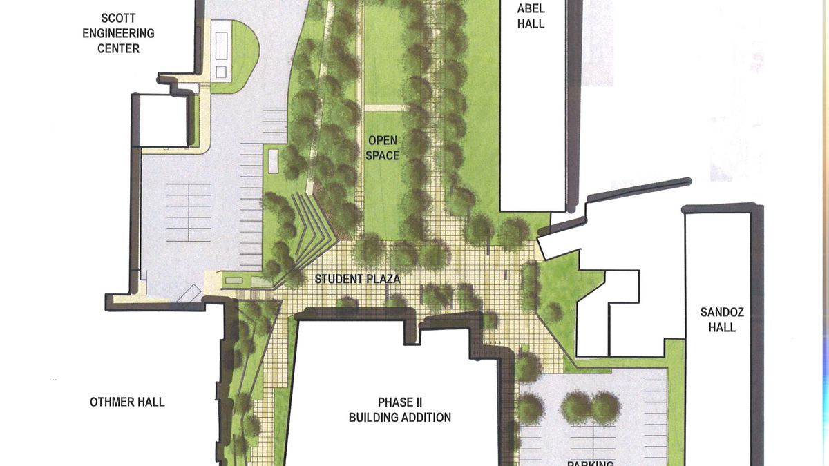 These are the tentative plans for 17th street between X and Vine streets.