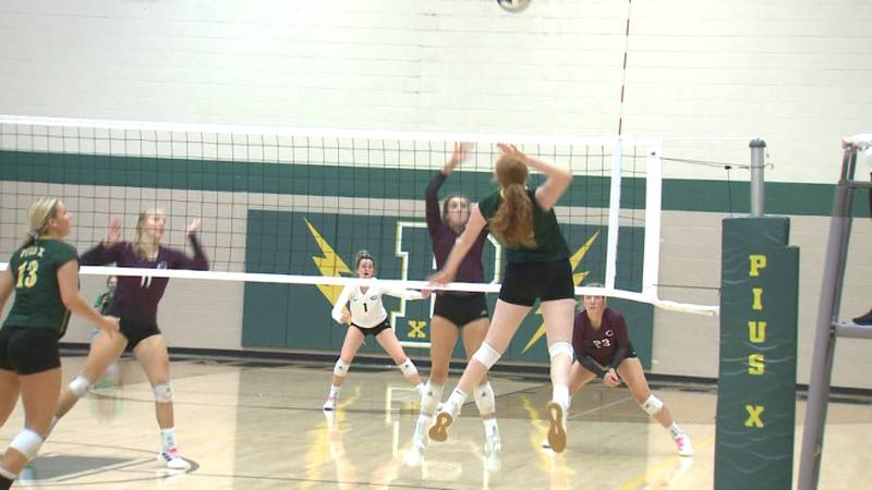 High school volleyball subdistricts
