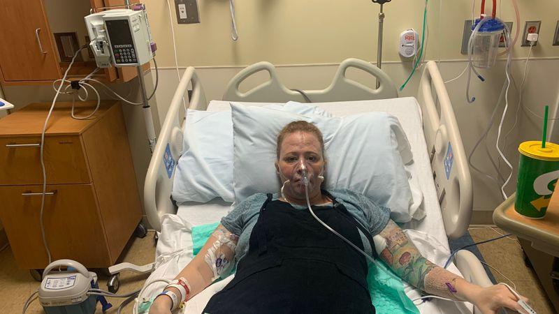 Kyle Barnes has been at CHI Health St. Elizabeth since Apr. 12.