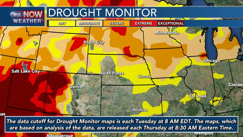 As drought conditions ravage the country, the state of Nebraska is starting to see some of the...