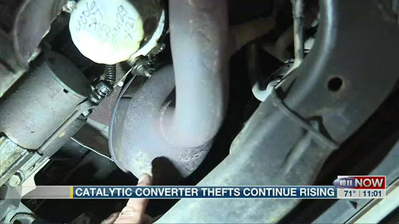 Catalytic converter thefts continue rising in Lincoln.