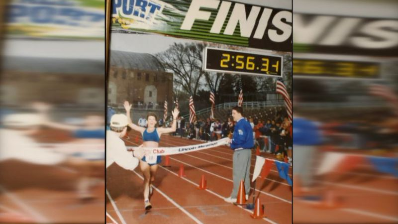 Marla Rhoden won the Lincoln Marathon in 1995, and after all these years she's still running