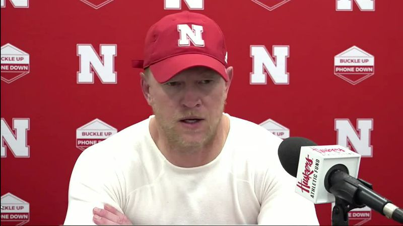 Scott Frost on the Husker Offensive Line