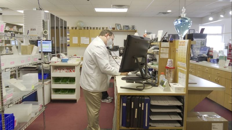 Pharmacists at RelyCare will be vaccinating those at long term care facilities once the Moderna...