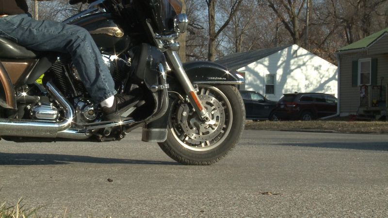 The riding season starts as the weather gets nicer and the days get longer. One Lincoln man is...