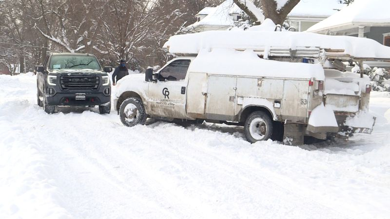 People in Lincoln are upset with residential snow plowing.