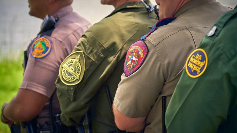 Twenty five Nebraska State Patrol Troopers have been in Del Rio, Texas helping law enforcement...
