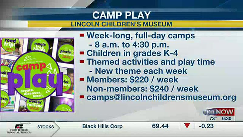 Lincoln Children's Museum camps