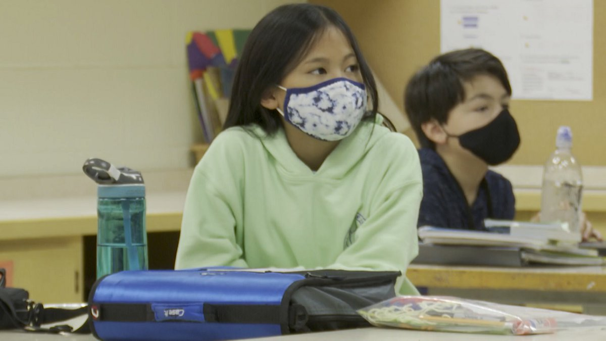 The latest advice from the CDC is that all students, staff and teachers in schools should wear...