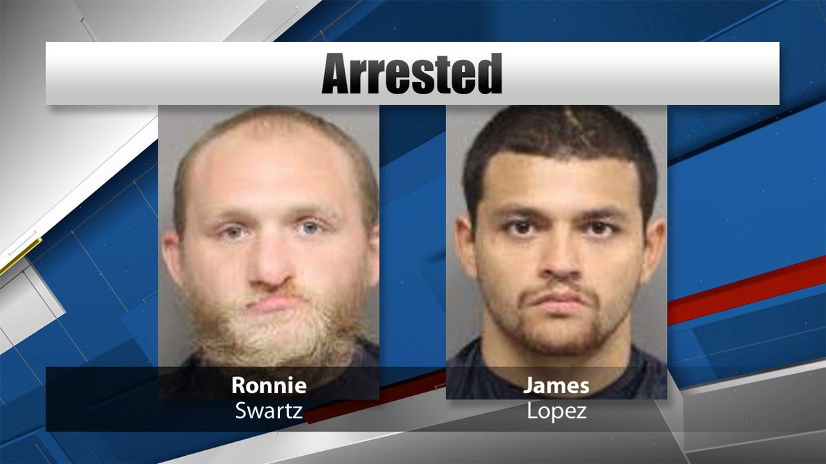 Two arrested for July 26 robbery.
