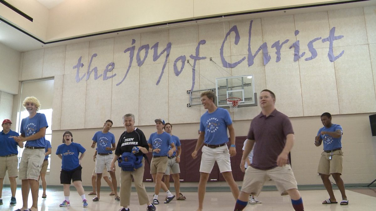 Singing, dancing and smiling filled the dance floor Thursday at Christ United Methodist...