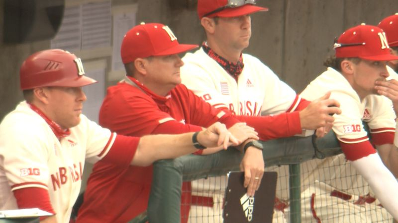 Joe Acker's two-run, seventh-inning single broke a 5-5 tie, as Nebraska rallied to remain in...