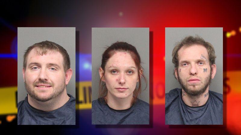 Matthew Borden, Cassandra Washburn and Christopher Brewer