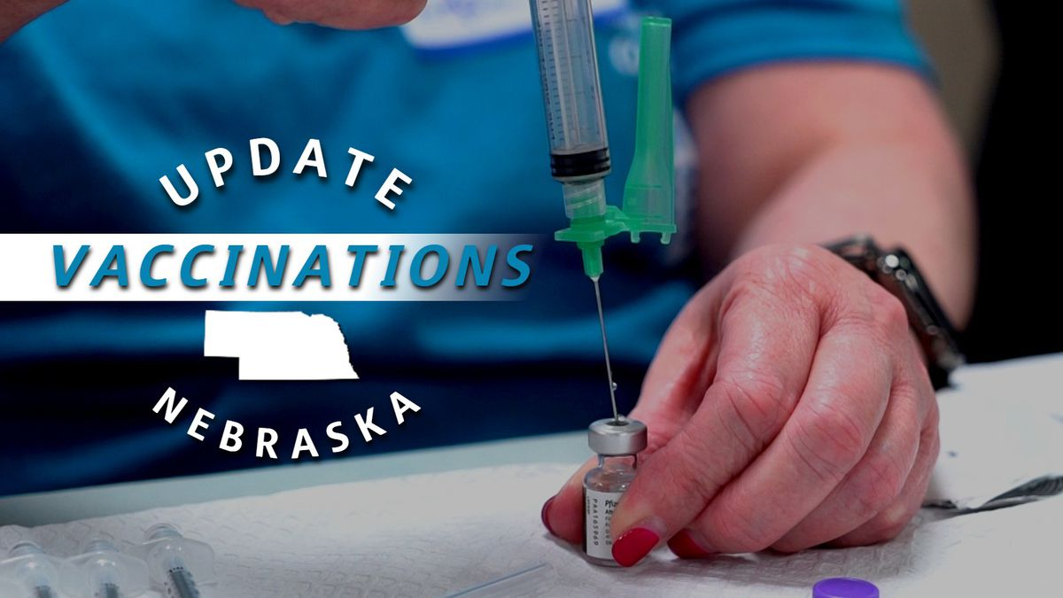 As of June 9, roughly 44% of all Nebraskans have been fully vaccinated against COVID-19.