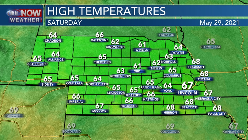 Warmer, but still well below average high temperatures expected for the first half of the...