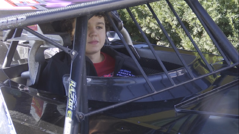 In a few weeks, Cade RIchards will compete in a race for charity, raising money for The Food...