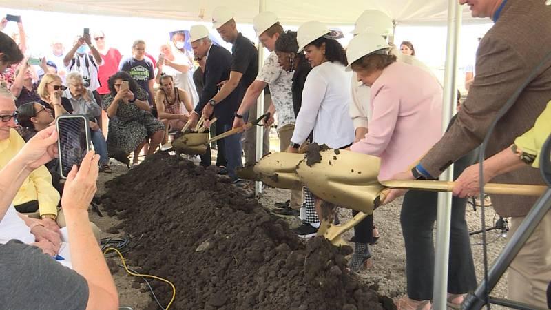 LPS breaks ground on their new elementary school.