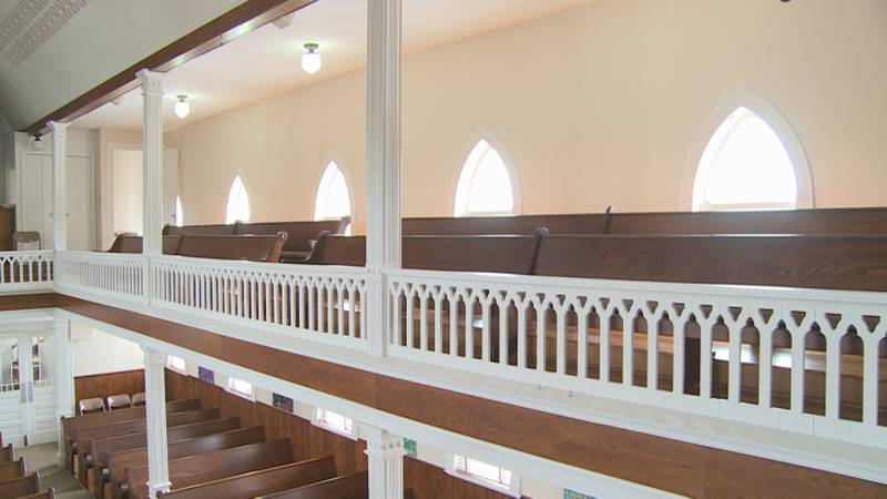 It's hard not to be impressed by St. Peter's Lutheran Church on Highway 50 near Elk Creek.  The...