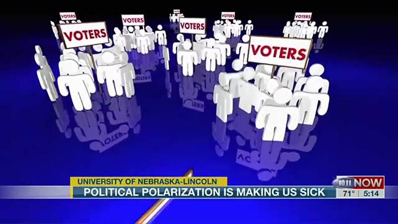 Political polarization is making us sick