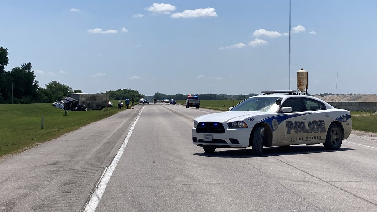 Three people were killed and a toddler was hurt in a head-on crash Thursday morning, June 10,...