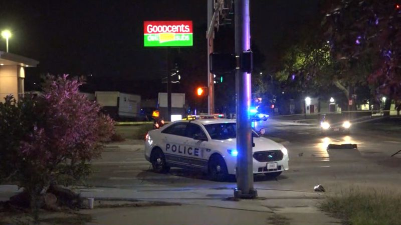 A motorcyclist was killed in a crash near 27th & Randolph Streets on Monday night.
