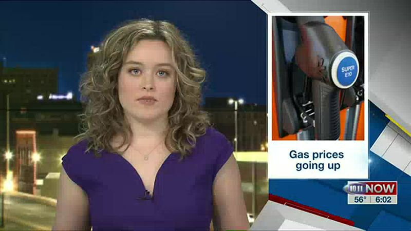 Gas prices rising in Nebraska and nationally