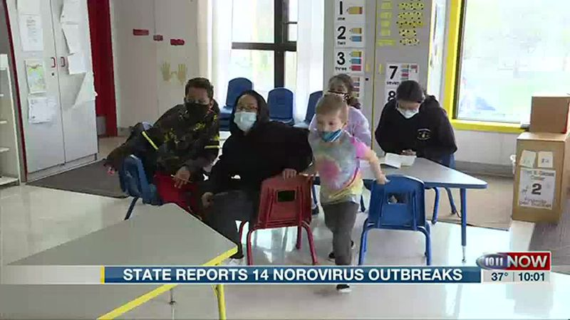 Nebraska DHHS reports 14 suspected or confirmed norovirus outbreaks