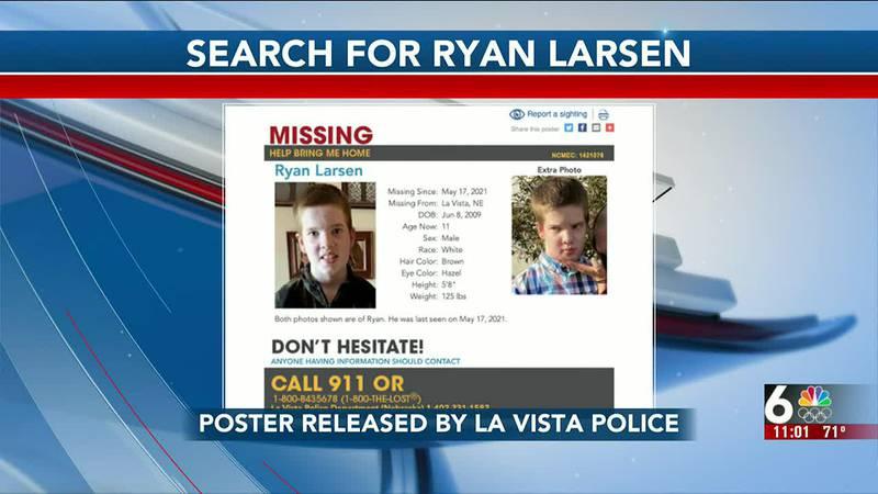 Ryan Larsen search continues