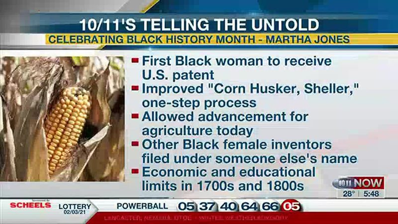 Martha Jones is believed to be the first Black woman to receive a U.S. patent in 1868 for her...