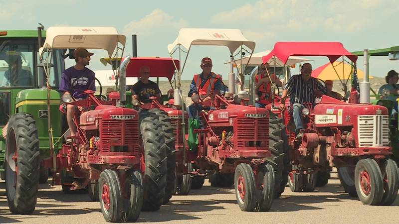 Dozens of tractor enthusiasts took part in the 10th annual Tractor Relay Across Nebraska this...