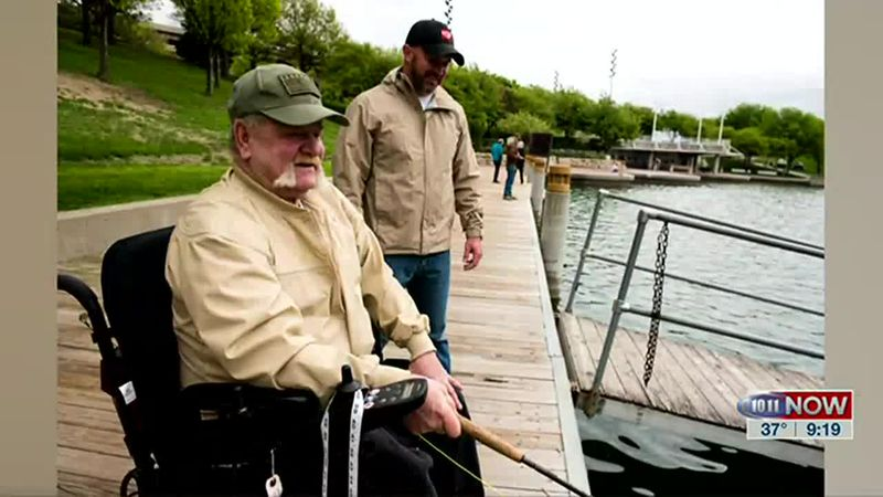 In this story, we learn how disabled veterans can get a lifetime state park pass through the...
