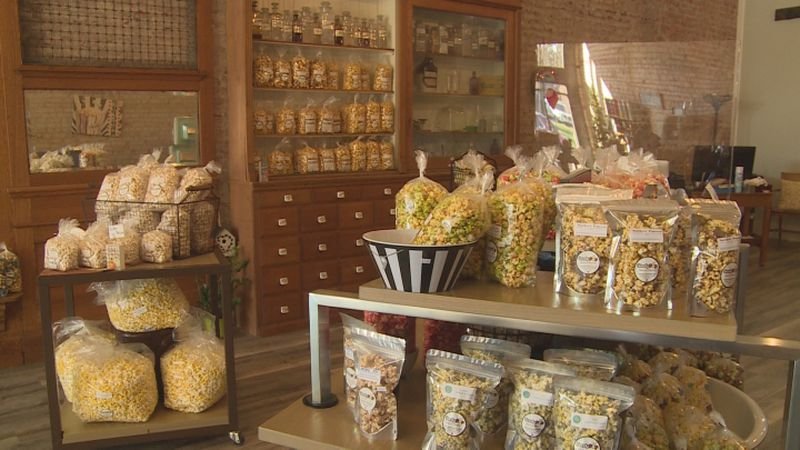 A Nebraska couple is starting a new adventure and providing popcorn enthusiasts with an...
