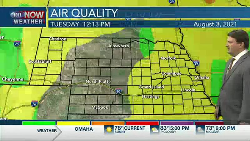 Brad's Tuesday Afternoon Forecast