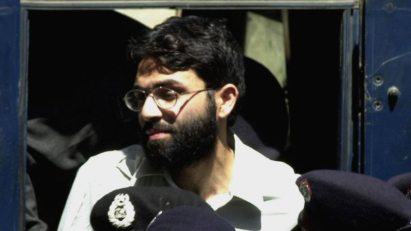 FILE - In this March 29, 2002 file photo, Ahmed Omar Saeed Sheikh, the alleged mastermind...